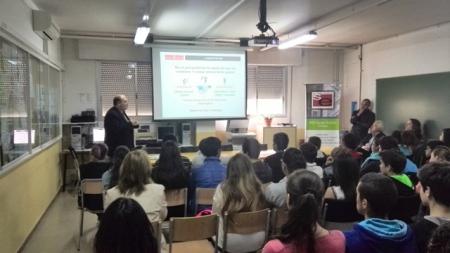 Presentació dels resultats a l'Institut (27 de maig de 2014)